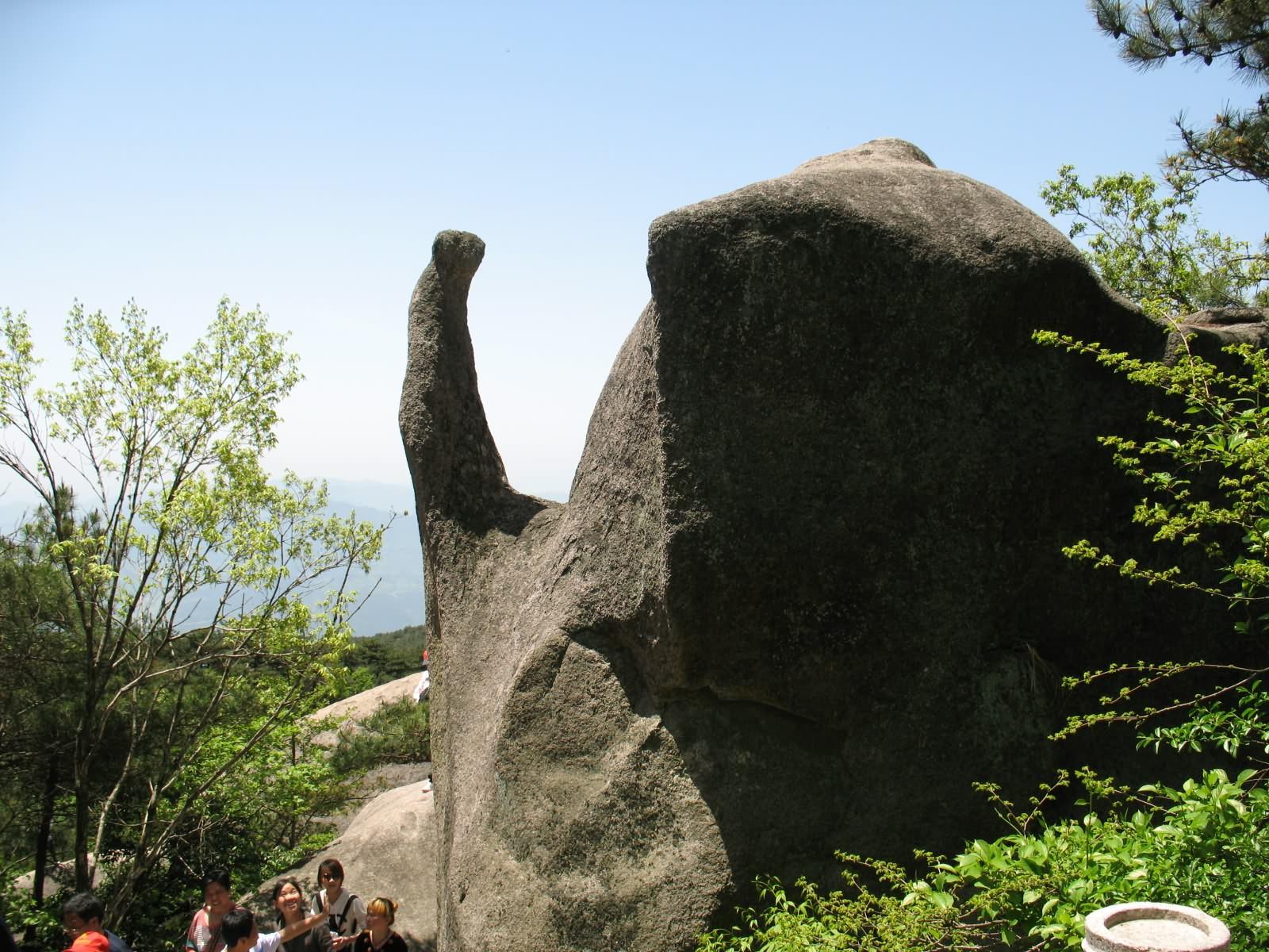 天柱山在哪_第一次旅游——天柱山怪石美图 | 我爱蒲公英